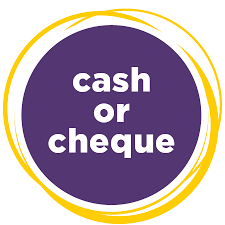 Cash or cheque